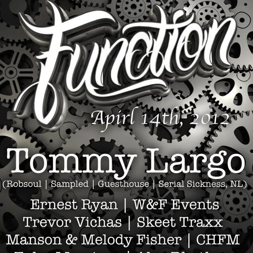 Trevor Vichas | Live @ Function 4.14.12