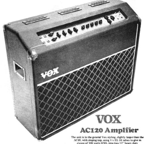 Xmas Flow on Vox AC-120