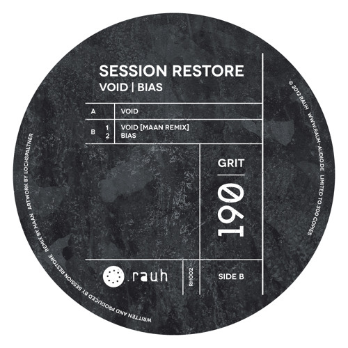 Session Restore - Bias - [RH002 - rauh]