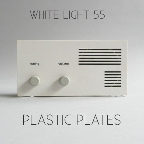White Light 55 - Plastic Plates