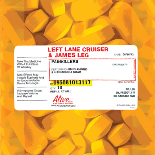 Left Lane Cruiser & James Leg - Ramblin' On My Mind