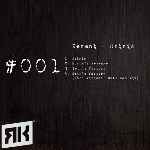 Kereni - Osiris EP (RKT001)