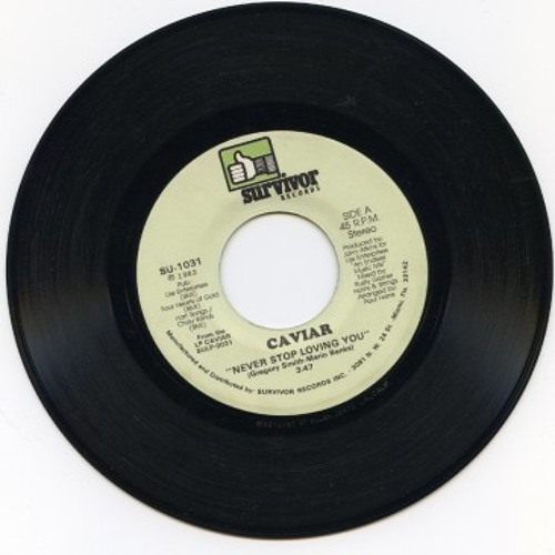 Caviar - Never Stop Loving You [Strelka Sounds Edit]
