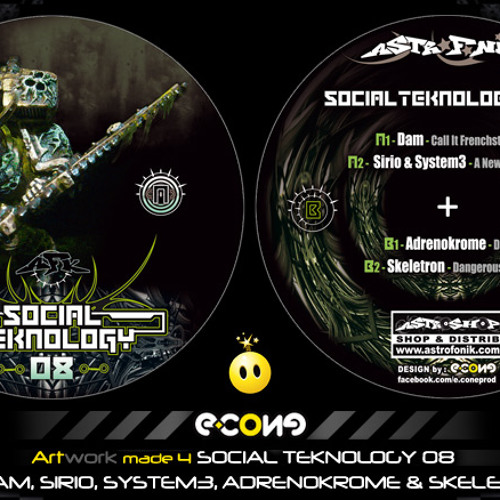 Sirio & System3 - A new frontier - Social Teknology 08