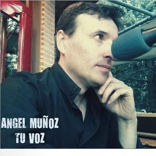 Ángel Muñoz locutando Vagabundo (escrito por Ángel Muñoz)