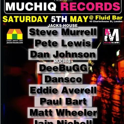 Steve Murrell @ FLUID Saturday 5th MAY  FREE DOWNLOAD