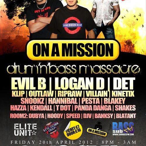 On A Mission Promo.DJ Hannibal, Blakey and MC Shakes