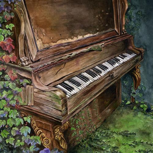 Vals chiquito en el piano de Ramón