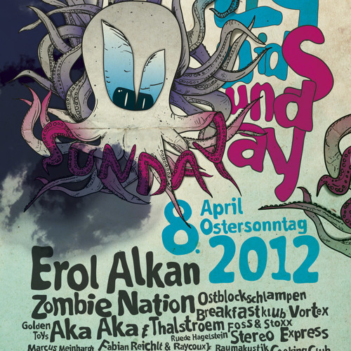 Marcapasos & Janosh @ Liquidsunday 8.0 Altenburg (08.04.2012)