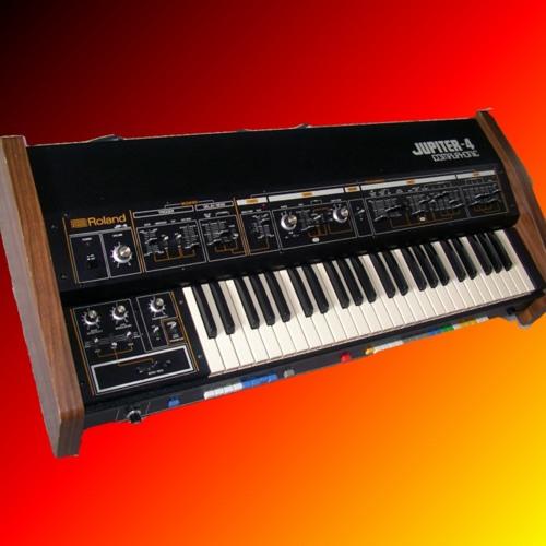 """Roland Jupiter-4  """"4 Voices"""""""