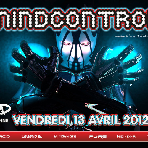 Madwave live @ MINDCONTROL 2012 - MAD Club, Lausanne (13.04.2012)