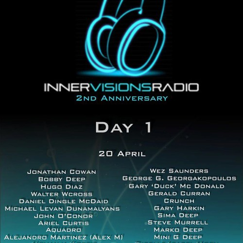 Deanna Avra * Innervisions Radio * 2nd Anniversary * April 2012