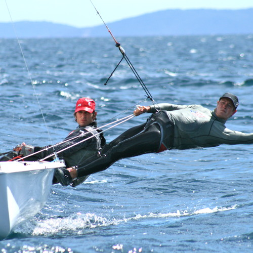 Hyères: Stu McNay & Graham Biehl, Post Racing, Day 1