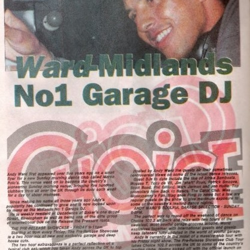Andy Ward on Choice FM, 1998 (another show).