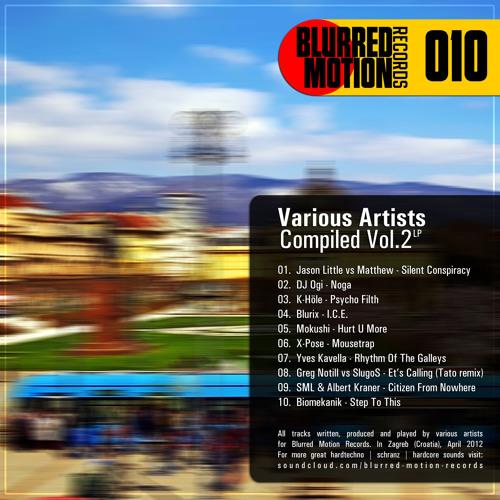 Blurix - I.C.E. | Blurred Motion Records |