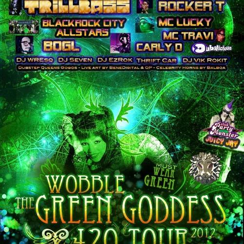 Wobble the Green Goddess 420 Set