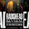 8. Pyramid Song - Radiohead - Mexico City - April 18th 2012