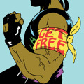 Major Lazer Get Free (Ft. Amber of The Dirty Projectors) Artwork