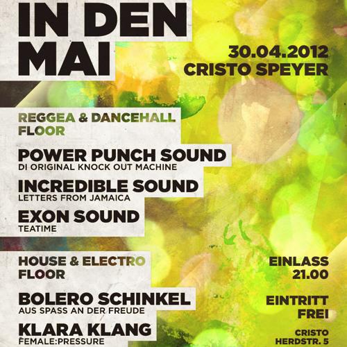 eXon Sound - Tanz in den Mai Promomix (30.04.2012)