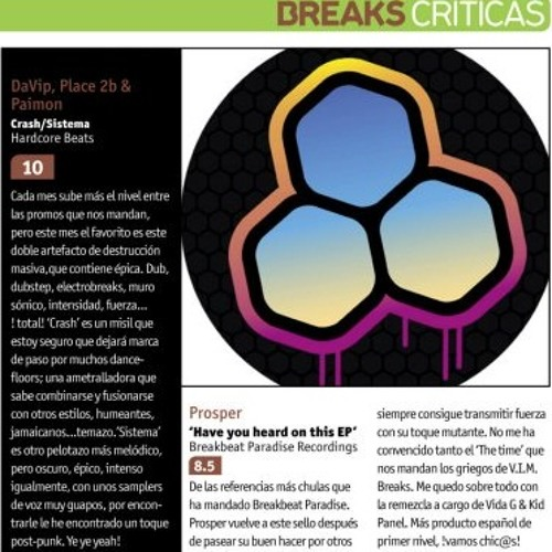 Sistema / with Place 2b + Paimon [Hardcore Beats #053] - RELEASE OF THE MONTH - MIXMAG SPAIN
