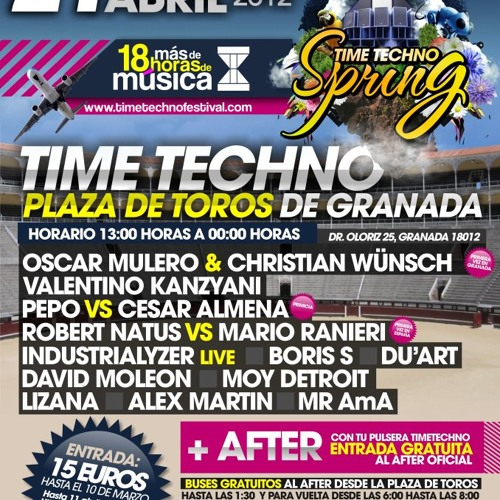 Du'ArT @ Time Techno Festival Spring Edition   21.04.2012