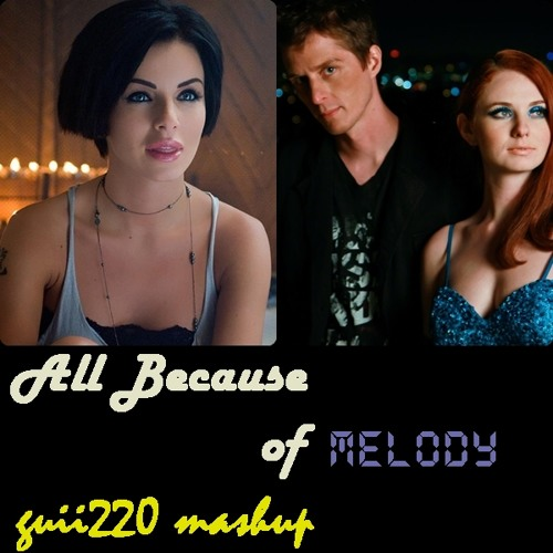 Lena Katina feat. Clark Owen vs. Julia Volkova - All Because of Melody (guii220 Mashup)