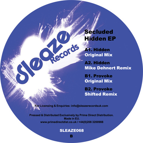 Secluded - Hidden (Mike Dehnert Remix) Preview Clip