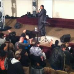 Dr. Gerald Jeffers  at Apostolic Jubilee Center