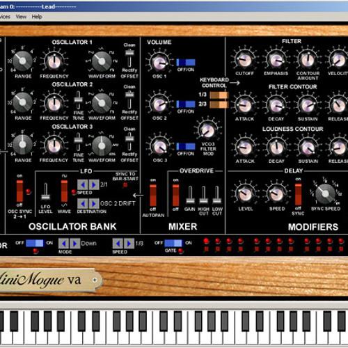 Free VST-Instrument: MiniMogueVA