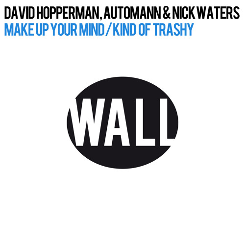 Sander van Doorn Play David Hopperman, Automann,Nick Waters – Make Up Your Mind [Out on Beatport]