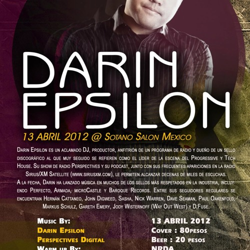 Darin Epsilon - Live @ Sotano Salon in Juarez, Mexico [Apr 13 2012]