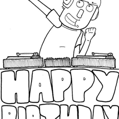 С днем рождения диджей картинки