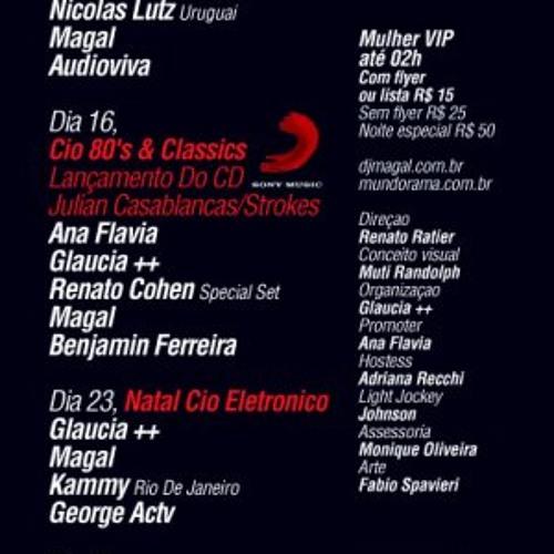DJ Benjamin Ferreira Live @ Cio Classics D-Edge 16-12-09