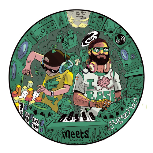 [BMB-001] 7FT Meets Fletcher In Dub EP - Evil Bush Doctor Riddim