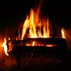 One hour of rain, a fireplace & I Giorni