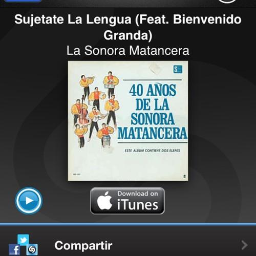 Sonora Matancera Sujétate la Lengua at Trafico Periferico Sur