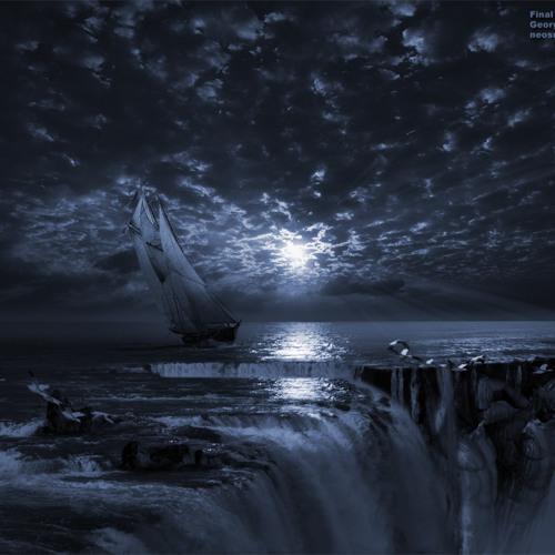 Sailing on the darkest sea