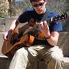 Student-musician Aaron Cook