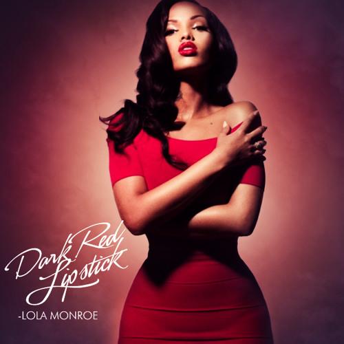 Dark Red Lipstick - LoLa Monroe