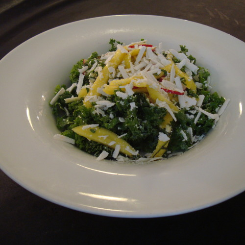 Cook-A-Long Kale Salad With A Floridian Twist