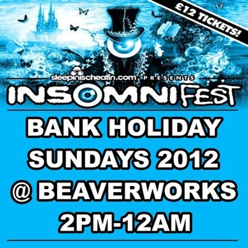 INSOMNI-FEST Volume 4 | Mixed by JAWDON