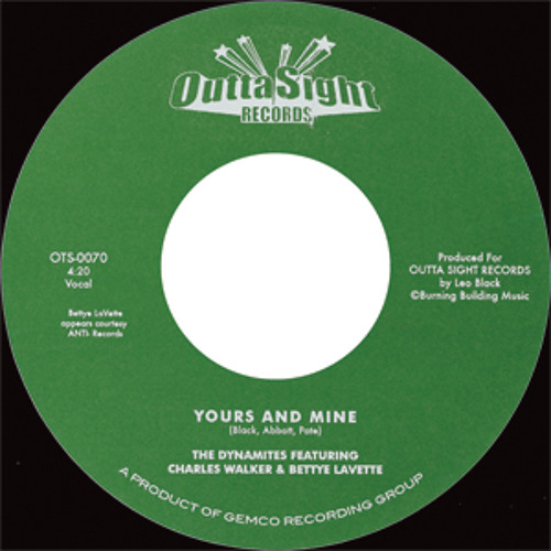 """""""Yours And Mine"""" Bettye Lavette & Charles Walker w/ The Dynamites"""