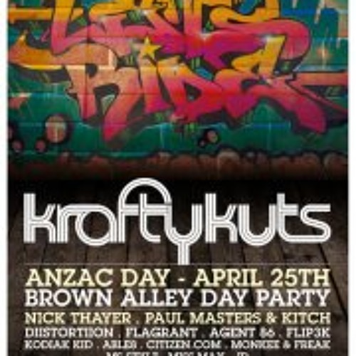 DiiSTORTiiON Live @ Krafty Kuts (Brown Alley) 25th April 2012