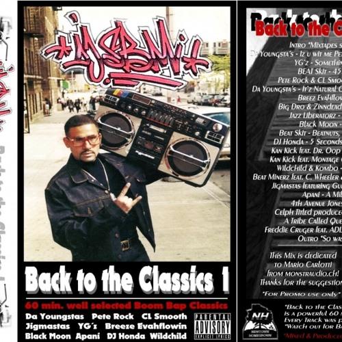 DJ SBM - Back to the Classics 1