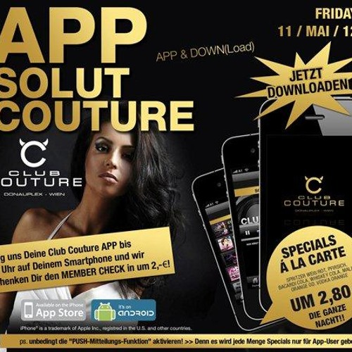 Appsolut Couture am 11-05-2012