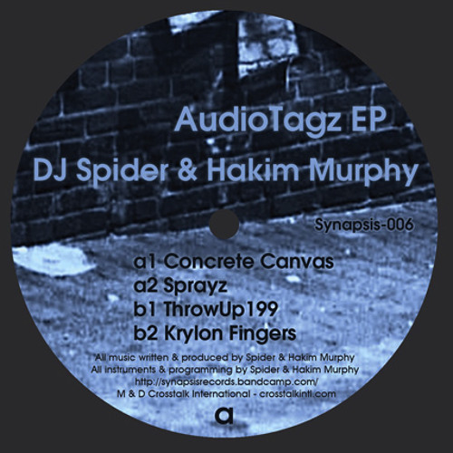 """4 clips from """"Audio Tagz EP"""" - DJ Spider & Hakim Murphy (12"""" Vinyl Only)"""
