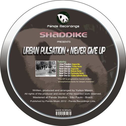 Shaddike - Urban Pulsation (Original Mix)
