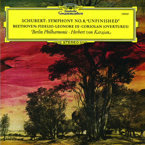 """Karajan and the Berlin Phil perform Schubert's Eighth Symphony, the """"Unfinished"""" (Allegro moderato)"""