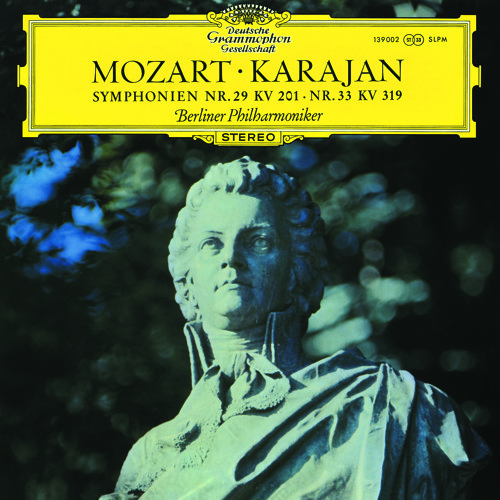 Karajan and the Berlin Phil perform Mozart's Symphony No. 29 in A (Allegro moderato)