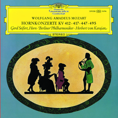 Karajan and the Berlin Phil perform Mozart's Horn Concerto No. 4 (Rondo - Allegro vivace)